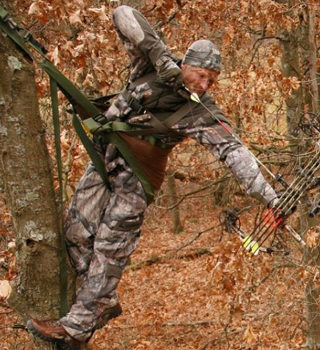 climbing tree stand for big guys