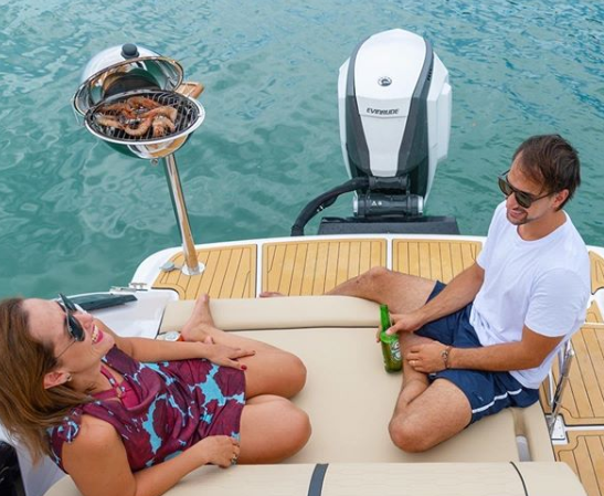 best pontoon boat grills