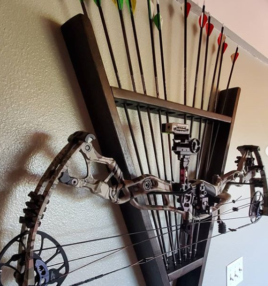 bow wall mount