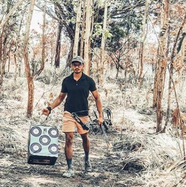 block archery target